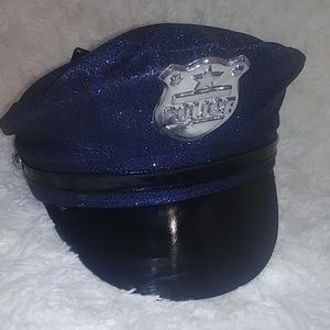 Brand new sparkly Police hat